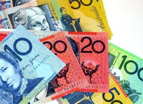 Dollar - schön farbig