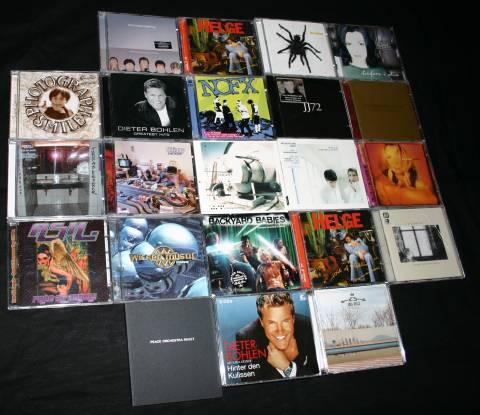 meine CD Sammlung