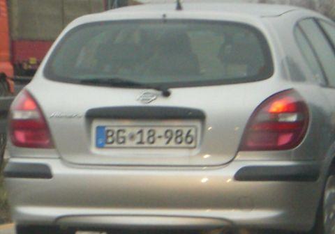 Bundesgrenzschutz Nissan