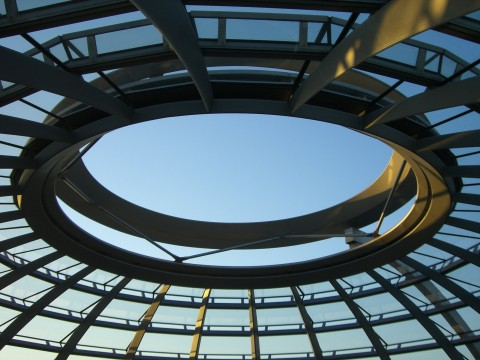 Reichstag, oben