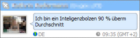 Intelligenzbolzen!