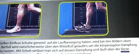man läuft mit Schuhen gerne über die V/Fersen....