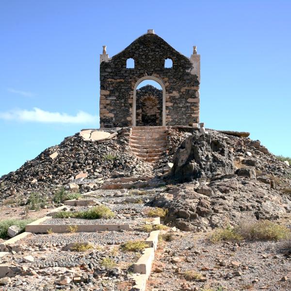 eine Ruine, Schauplatz eines Musikvideos