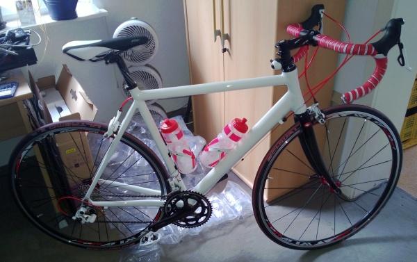 das neue Rennrad!