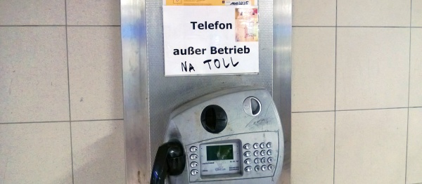 außer Betrieb - NA TOLL