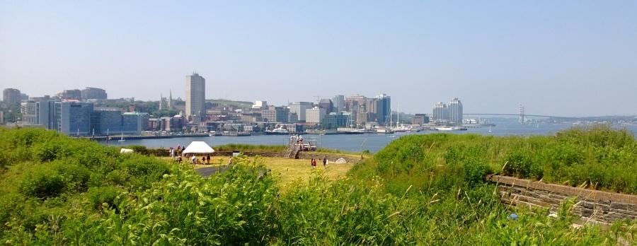 Ausblick nach Halifax