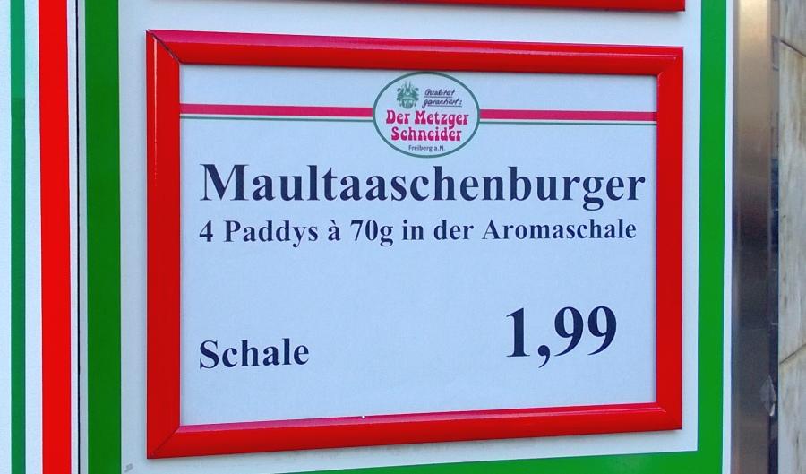 Maultaaschen-Burger - groß und lecker!