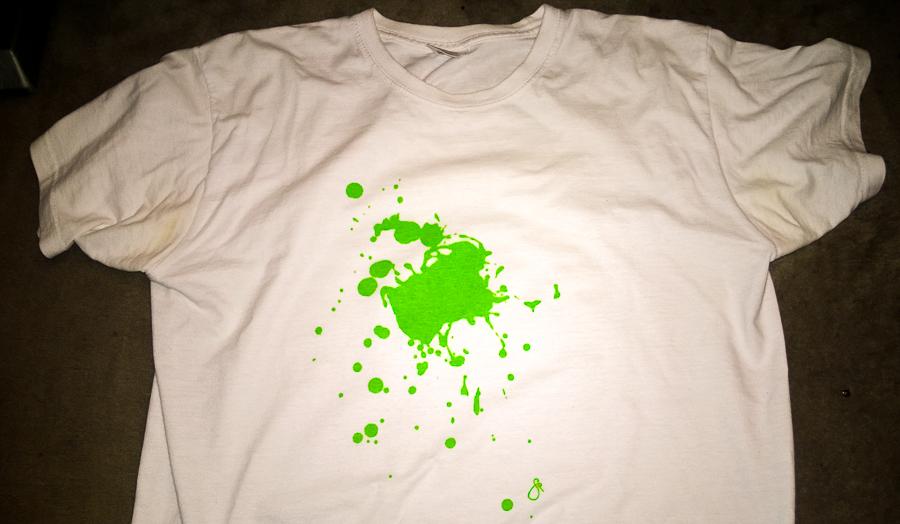 Kunst T-Shirt, handgemacht