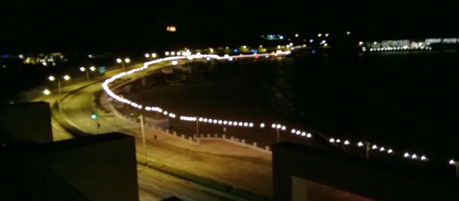 die Aussicht vom Hotel