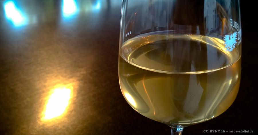 Weißwein beim Württembergischen Kunstverein