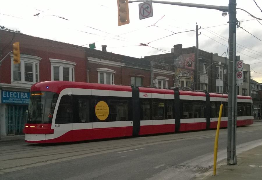 new Streetcar in Toronto