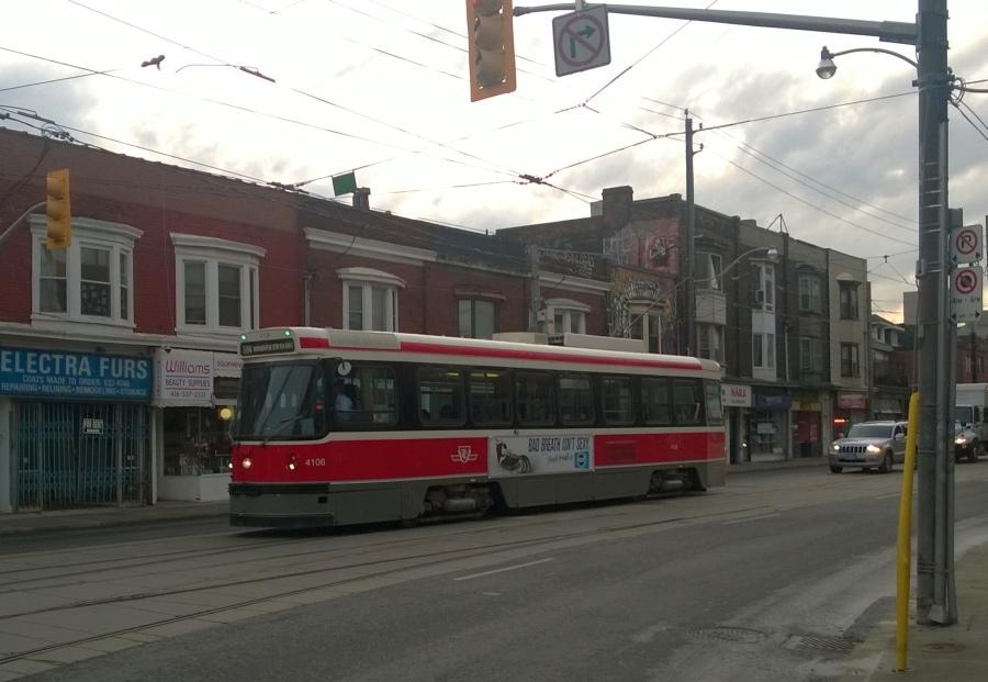 old Streetcar in Toronto