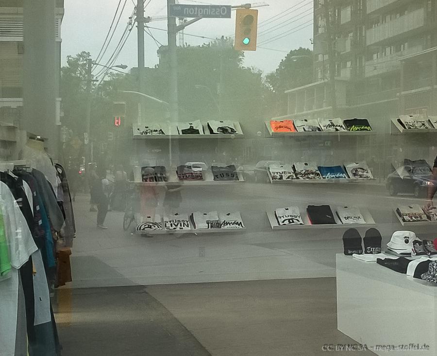 die 90er - ein Stüssy Laden