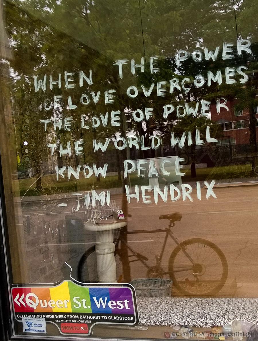 Power of Love, natürlich bei Worldpride