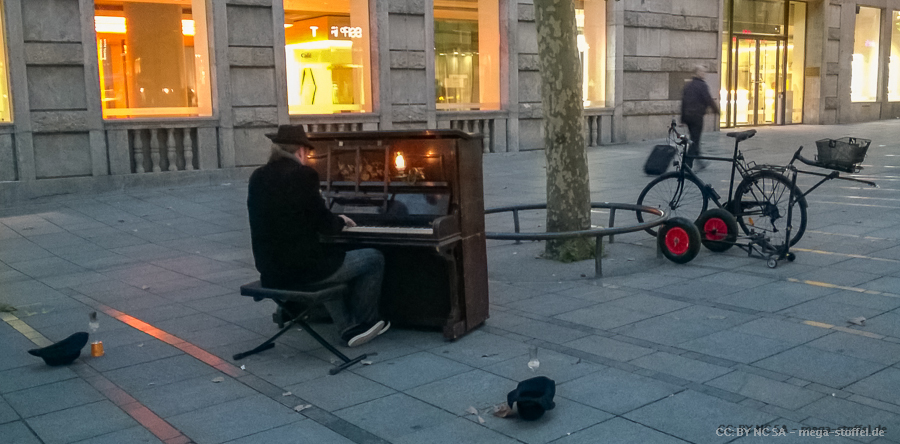 Klavier-Lastenrad