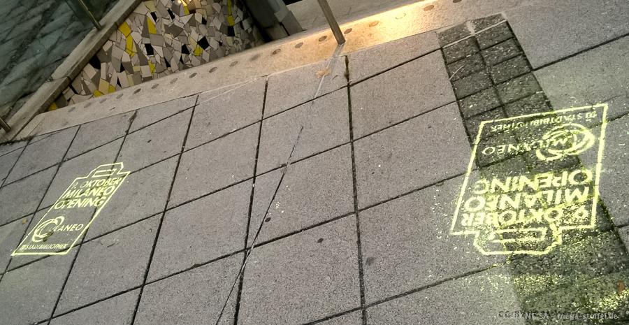 Milaneo - Müllaneo - Werbung überall in der Stadt
