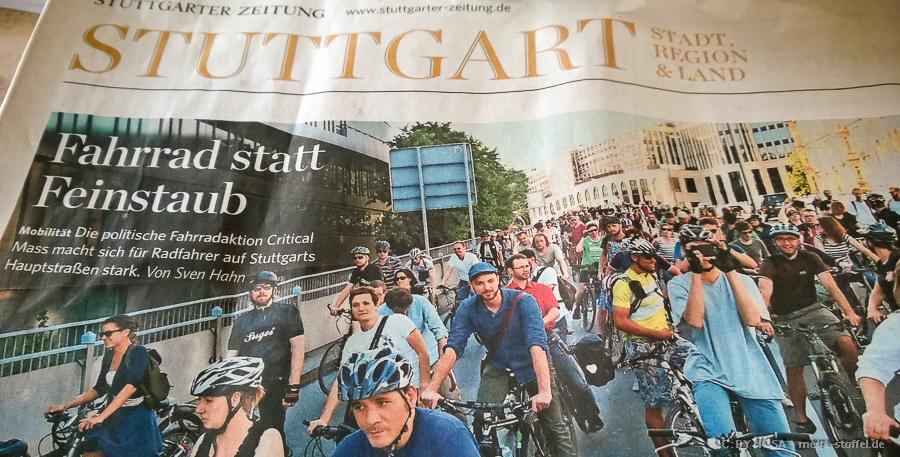 ich in der Stuttgarter Zeitung