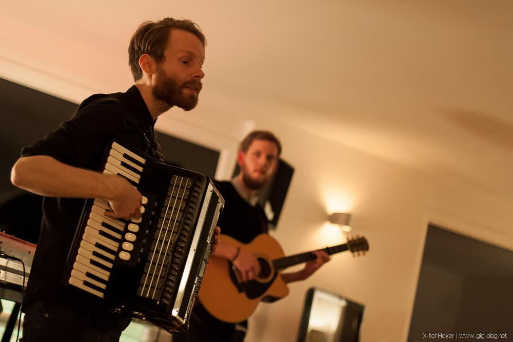Enno und Onno im Stuttgarter Wohnzimmer