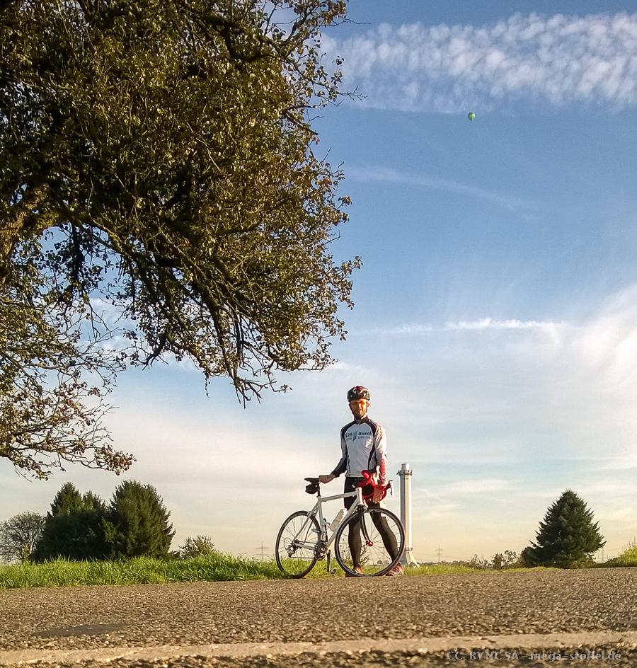 November(!)-Radtour