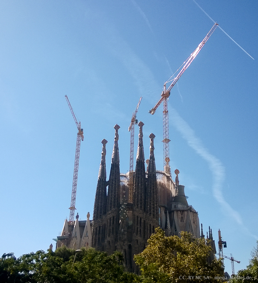 Sagrada Familia & Kräne