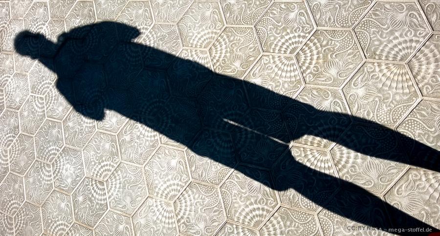 Schatten-Selfie