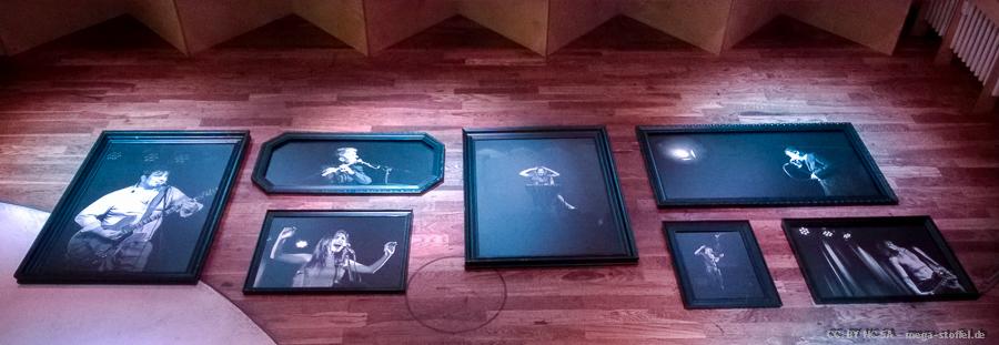 Vorbereitungen zur Galerie