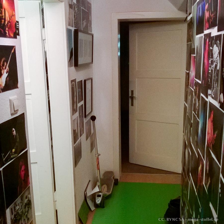 eine offene Tür, die bisher immer zu war....
