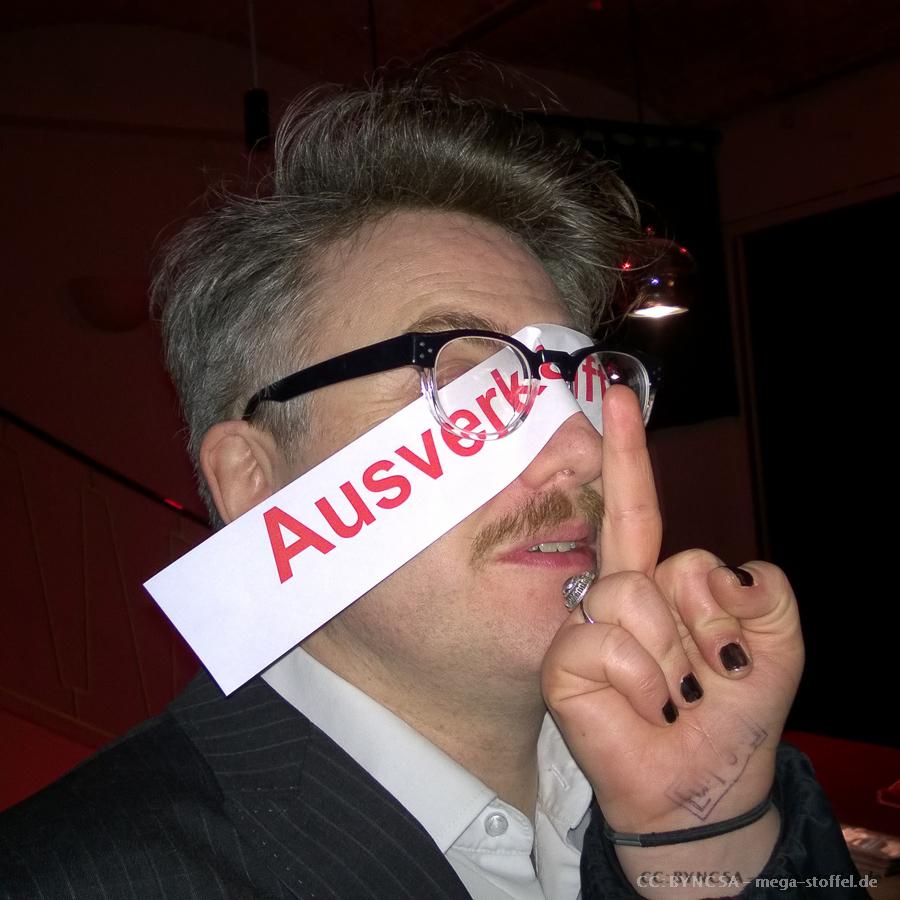 Gereon Klug bei seiner (fast) ausverkauften Lesung