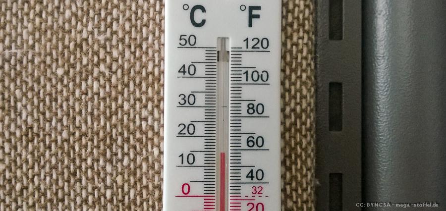 keine 15°C im Büro!