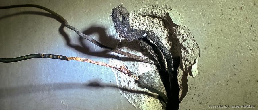 blanke Stromleitung /2