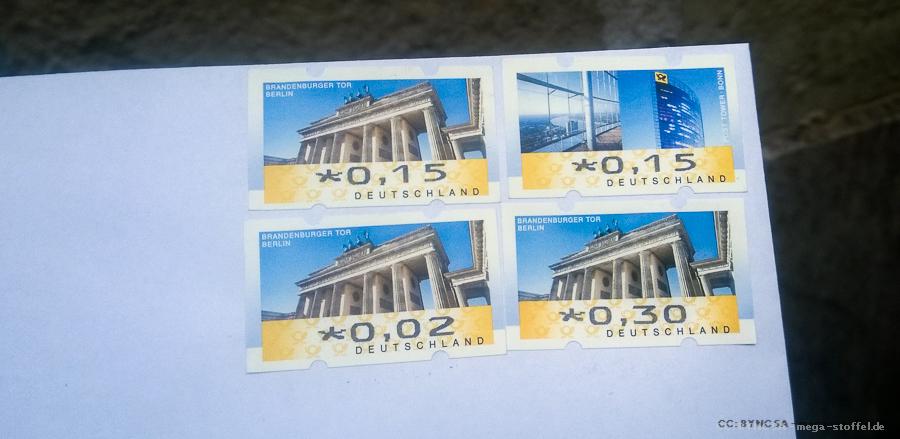 Briefmarken-Geld