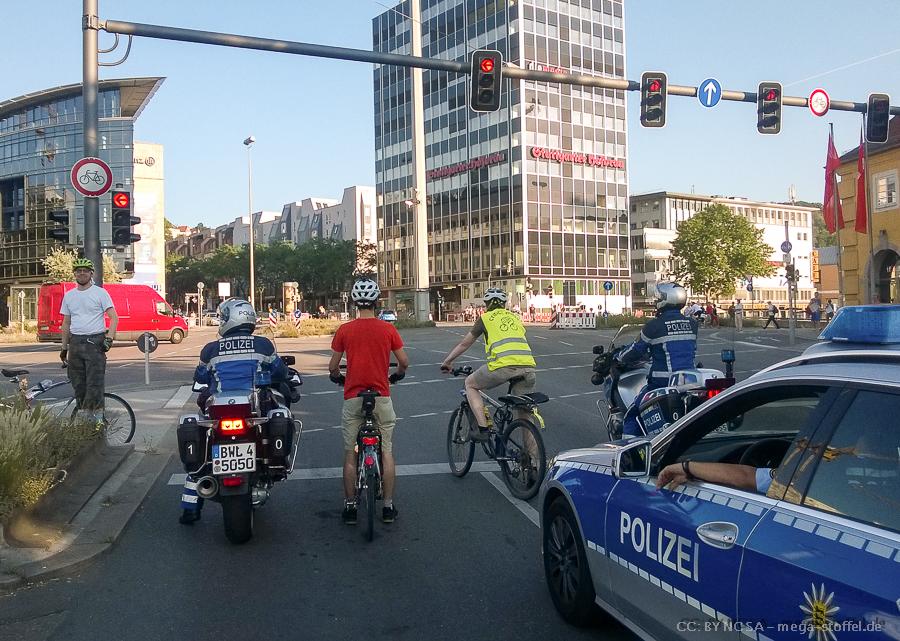 Critical Mass, Juni, Stuttgart