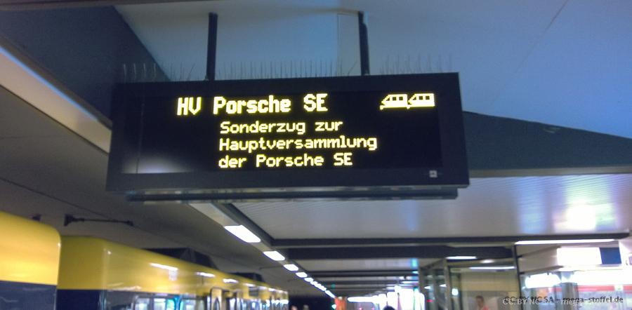 zur Porsche Hauptversammlung