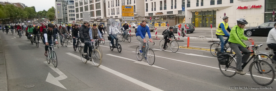 Ride of Silence in Stuttgart