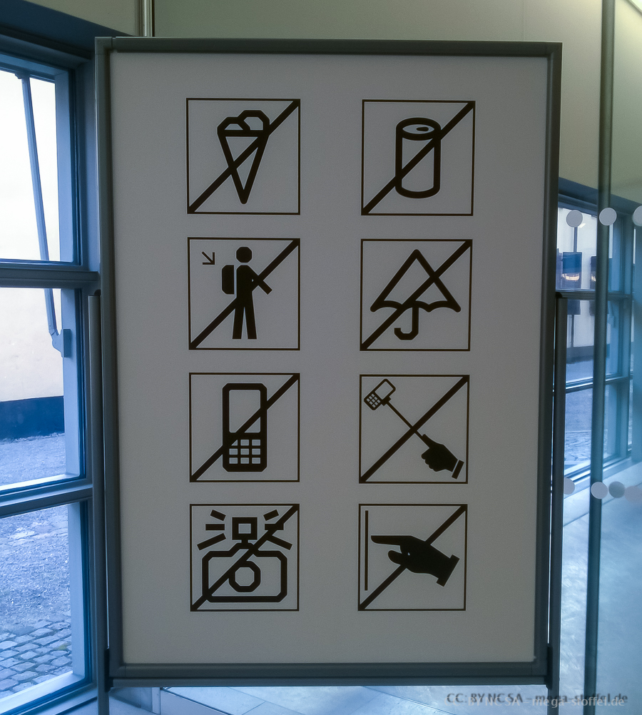 Stockholm: Selfie-Stick-Verbot