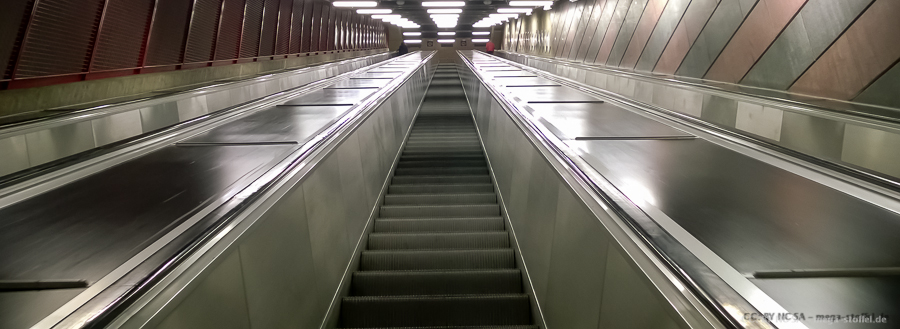 Stockholm: U-Bahnen (Tunnelbana)