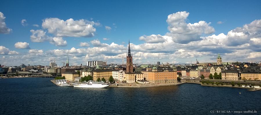 Stadt Stockholm, Touri-mäßig