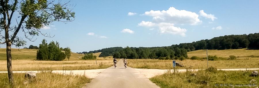 Mountain-Biker bei der RTF Laichingen