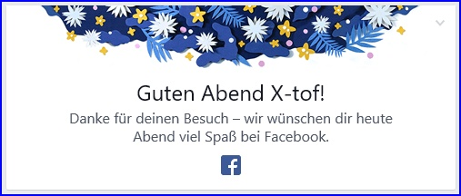 Guten Abend von facebook