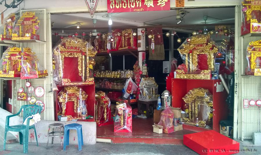 Bangkok, Tempel-Ausstatter