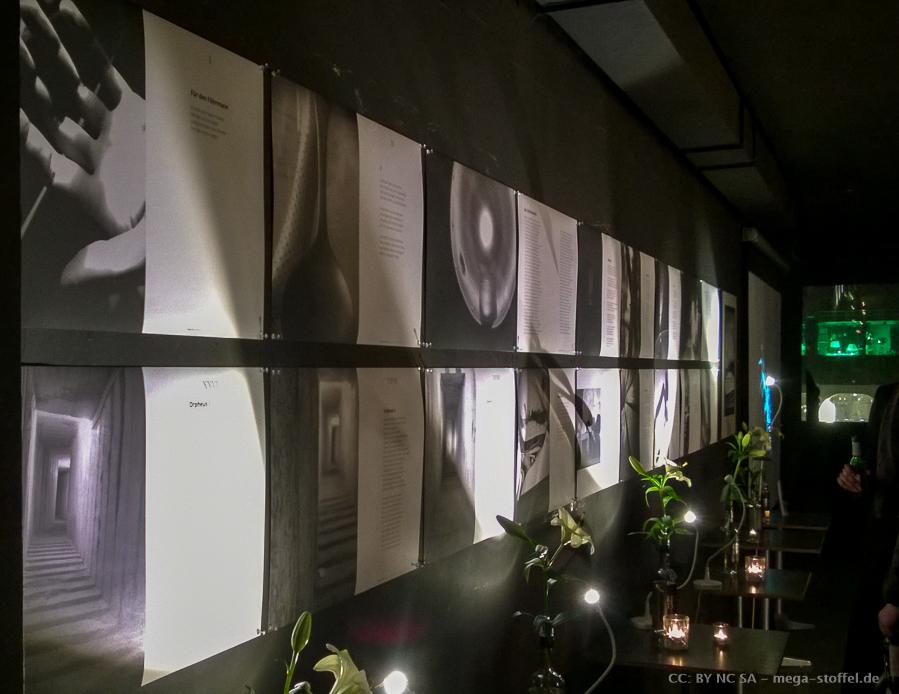 Ausstellung im Wintergarten