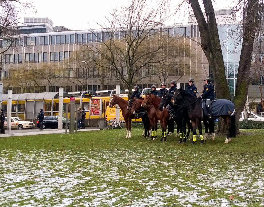 Pferdchen in der Stadt