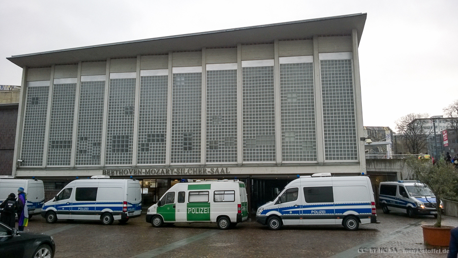 Polizei vs Feinstaub