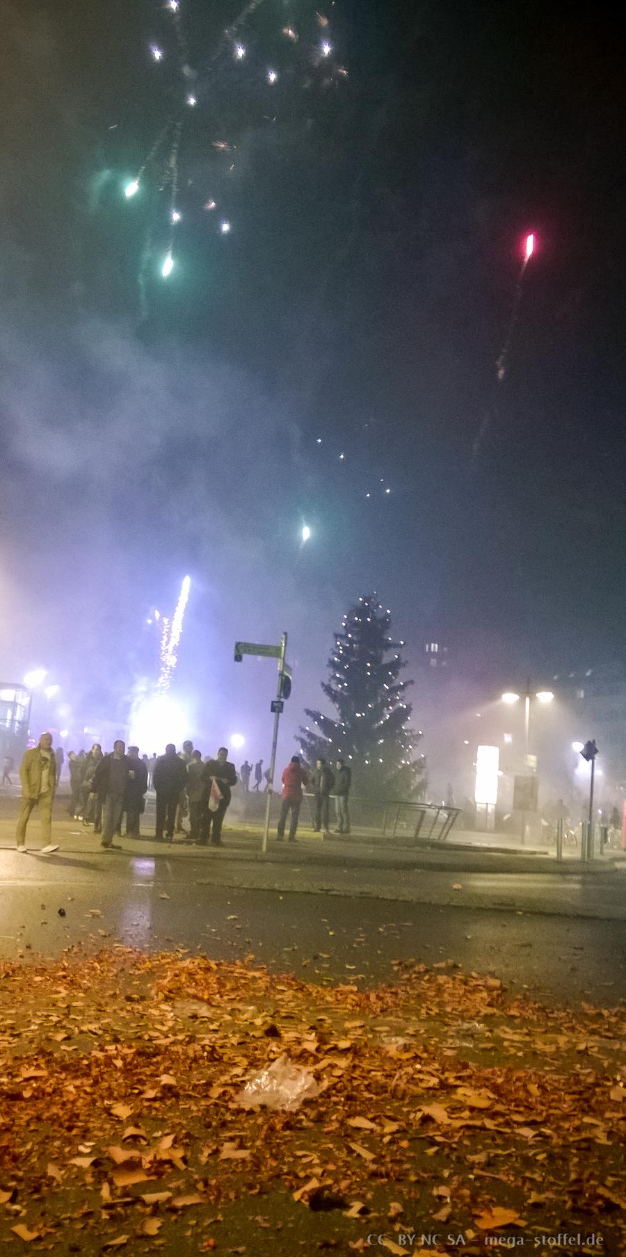 Silvester am Marienplatz 2015/2016