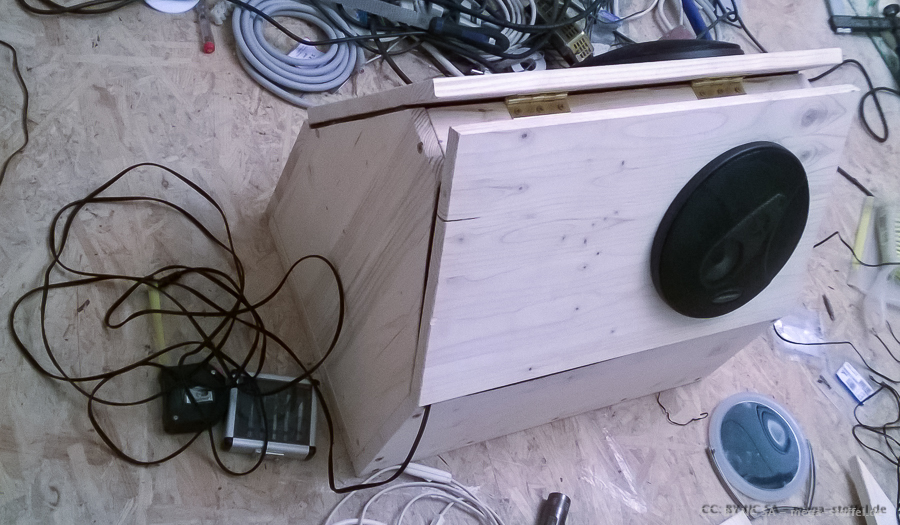 meine Fahrrad-Musik-Anlagen - BoomBox