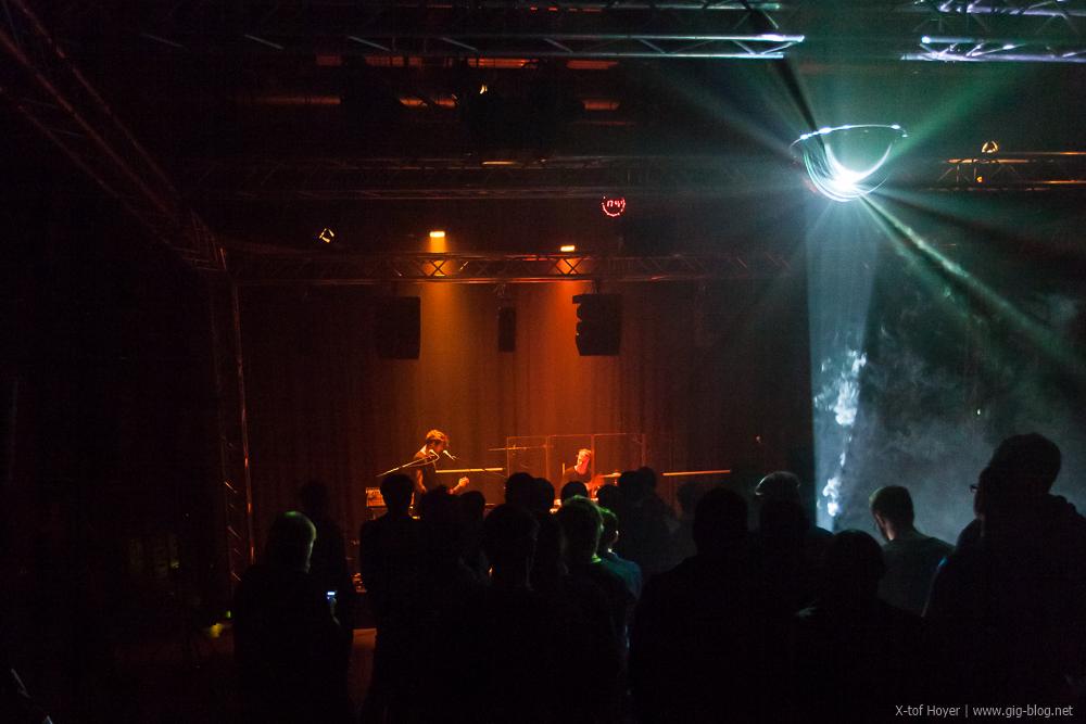 Eau Rouge beim 3D Konzert in der HdM