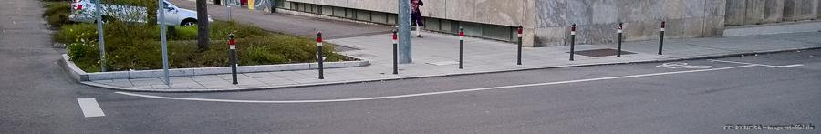 eine Art Radweg