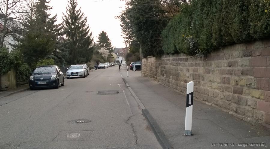 Stuttgarter Straßenbesonderheiten /1
