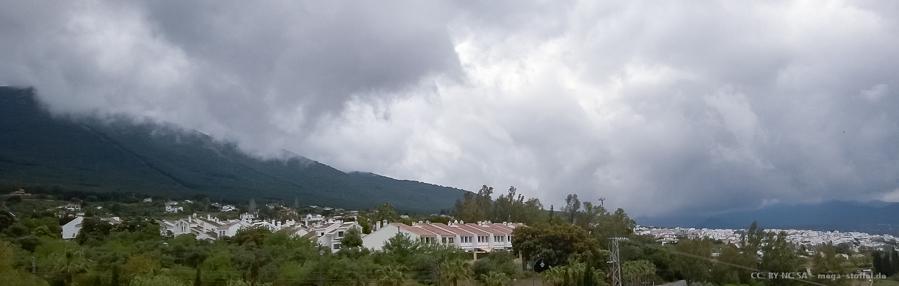 vielleicht Regen, Scheiße!