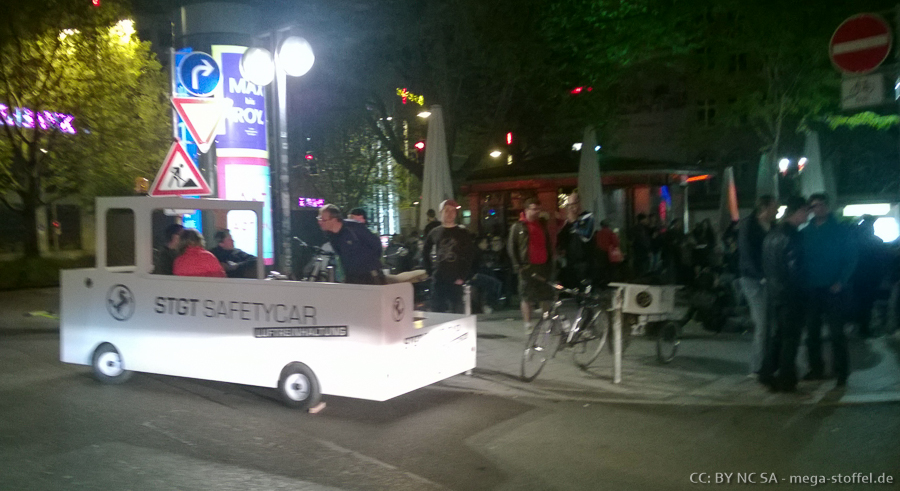 CriticalMass Stuttgart Mai /4